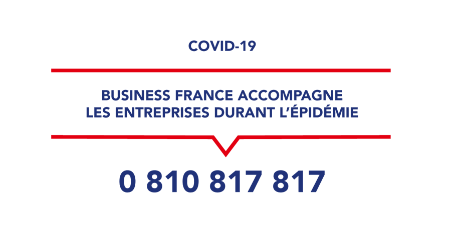 Covid-19 : Business France et la Team France Export à vos côtés  !