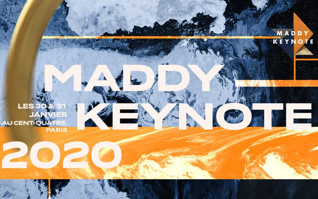 Maddy Keynote is back ! RDV les 30 & 31 janvier au CENTQUATRE, Paris