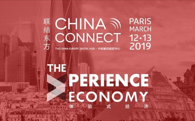 China Connect, 9ème édition (12-13 mars 2019) : « The Experience Economy »