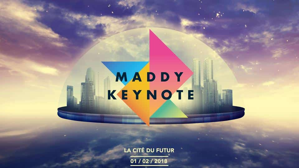La Smart City à l'honneur de la Maddy Keynote 2018